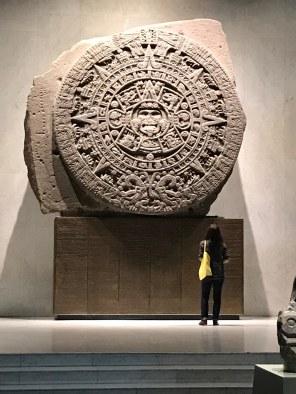 Aztec 'Calendar Stone' in the Museo Nacional de Antropología