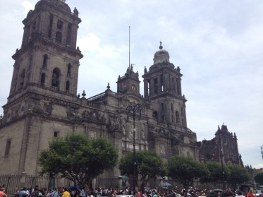 Metropolitan Cathedral: adjacent to the Zócalo