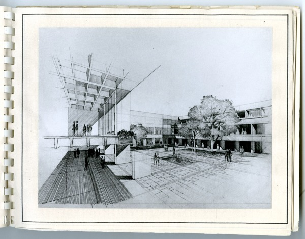 1971 Comprehensive Planning Guide plaza rendering