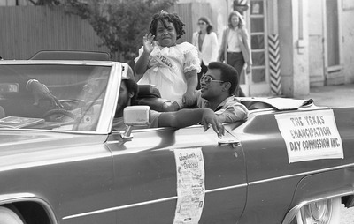Juneteenth Parade, June 14, 1982, SA Express News Photography Collection, MS 360